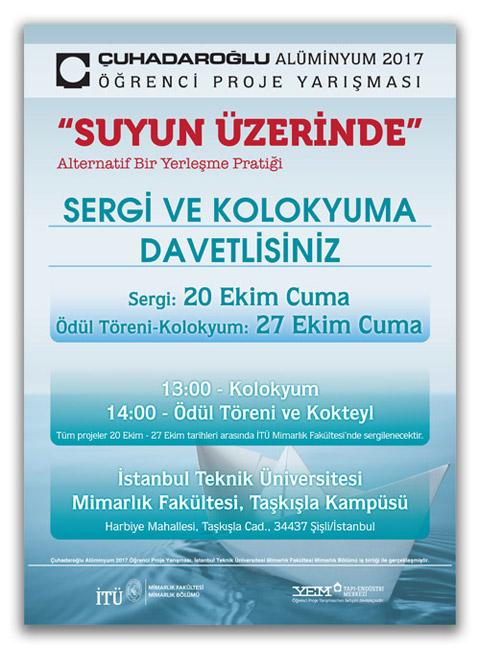 Çuhadaroğlu Alüminyum 2017 Öğrenci Proje Yarışması...