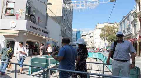İstiklal Caddesi'nin Son Hali Görüntülendi