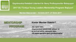 ULI Türkiye Young Leaders Mentorship Programı Başvuruları