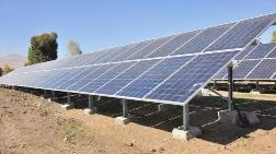 Köye Kurulan Güneş Panelleri ile İçme Suyuna Kavuştular