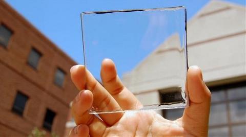 Cam Şeklinde Güneş Enerjisi Hücreleri Üretildi