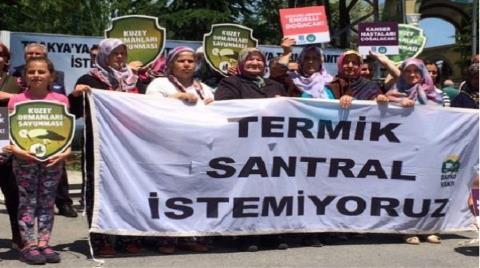 Trakya'da Kömürlü Termik Santrala Karşı Kampanya