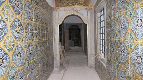 Topkapı Sarayı'ndaki Restorasyon Yakından Görüntülendi