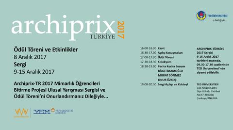Archiprix - Türkiye 2017 Ödül Töreni, Kolokyum, Sergi