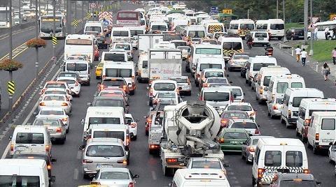 Trafikteki Araç Sayısı 22 Milyonu Geçti
