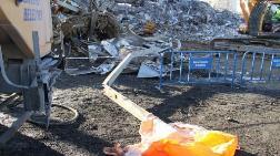 Bakırköy'de Başına Demir Düşen İşçi Öldü