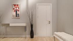 Beyaz Peli-DK İç Mekân Kapıları
