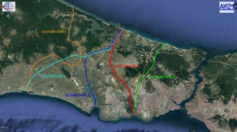 Kanal İstanbul Güzergahı Gayrimenkulde Rekor Kıracak