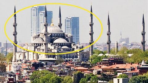 Silueti Bozan Kuleler Tıraşlanmayacak