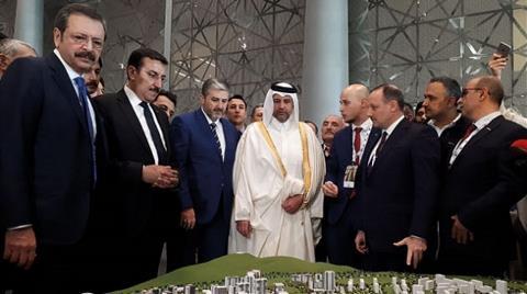 Katar'da Kanal İstanbul'a İlgi Büyük