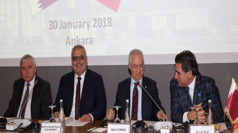 Katar Heyeti İle İşbirliği Fırsatları Gündeme Alındı