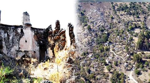600 Yıllık Köy Kaderine Terk Edildi