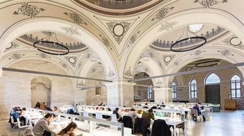 Beyazıt Kütüphanesi En İyi Binalar Listesinde