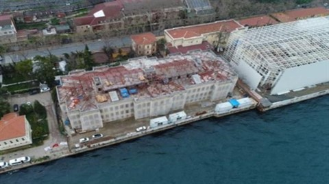Galatasaray Üniversitesi Havadan Görüntülendi