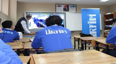 URTİM, İSOV Lisesi'nde Eğitimlere Başladı
