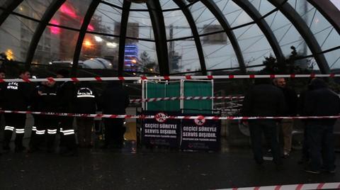 Metro Merdiveni Çöktü, İBB Kafa Karıştırdı