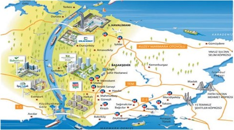 Kanal İstanbul'dan Emlak Konut Projeleri Çıktı