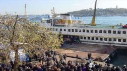 Karaköy - Kadıköy Vapur Seferleri Durdu