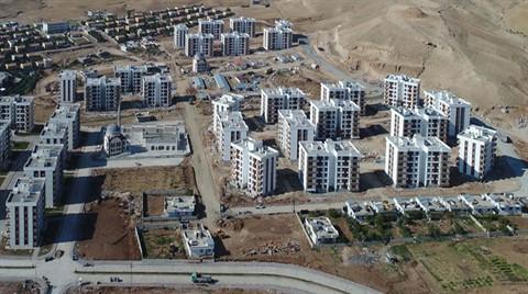 TOKİ'nin Şırnak Projesi Havadan Görüntülendi