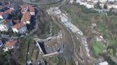 Dolmabahçe - Levazım Tüneli Havadan Görüntülendi