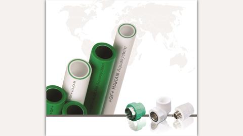 GF Hakan Plastik PP-R Aquasystem Boru ve Ek Parçaları