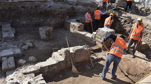İnşaat Kazısında Roma Dönemi Kalıntıları Bulundu