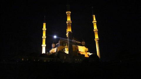 Selimiye Camisi'nin Işıkları Kapanacak