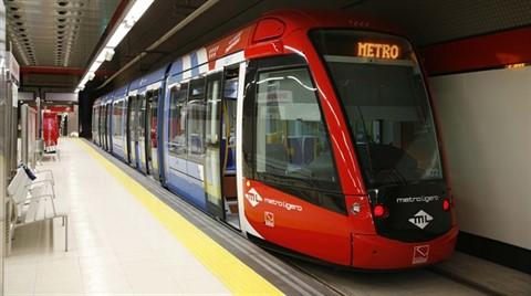 İstanbul'a 12 Km Uzunluğunda Yeni Metro