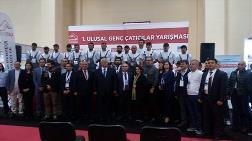 """1.Ulusal Genç Çatıcılar Yarışması""""nda Şampiyonlar Kupayı Aldı"""