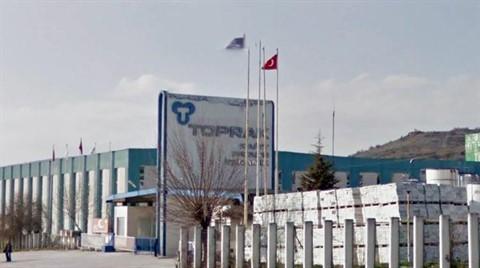 Toprak Seramik Fabrikası Satıldı