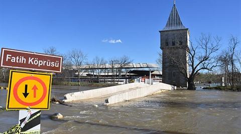 Tunca Nehri  'Turuncu Alarm' Seviyesine Düştü
