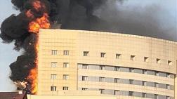 İnşaat Mühendisleri Odası'ndan Hastane Yangını Açıklaması