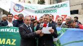 Beyoğlu'nda Şeker Fabrikası Protestosu