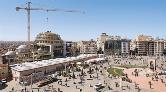 Taksim Camii'nin Yarısı Tamamlandı