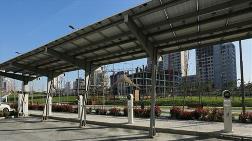 Başakşehir'de Parklara Şarj İstasyonu Kuruldu