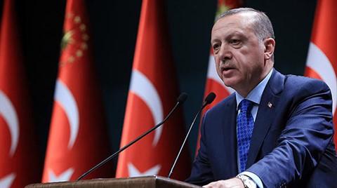 Erdoğan'dan Kanal İstanbul Açıklaması