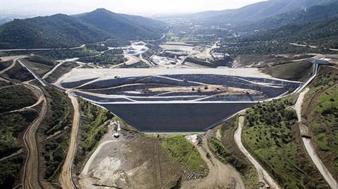 Rahmanlar Barajı'nın Yüzde 75'i Tamamlandı