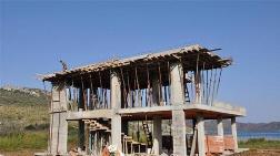 Datça'da Sit Alanındaki Otel İnşaatı Sürüyor