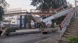 Vinç Üst Geçidi Devirdi, Metro Seferleri Durdu