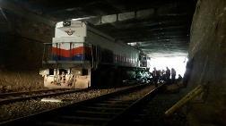 Aydın'da Yük Treni Raydan Çıktı