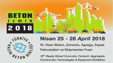 Beton İzmir 2018 Fuarı ve THBB Seminerleri