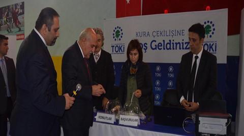 Sinop'ta TOKİ Konutları Kurayla Sahiplerini Buldu
