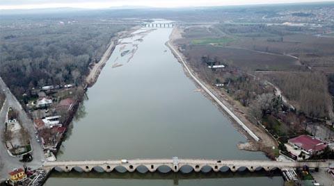 Kanal Edirne Projesi Tamamlanmak Üzere