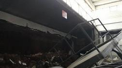 Gaziantep'te Fabrika Duvarı Çöktü, 1 İşçi Öldü