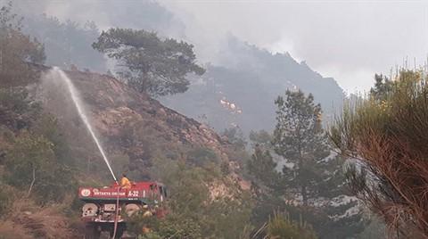 Amanos Dağları'ndaki Yangın Kontrol Altına Alındı
