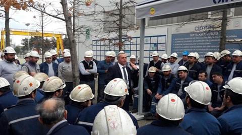 Çimtaş'ta Greve Saatler Kala Anlaşma Sağlandı