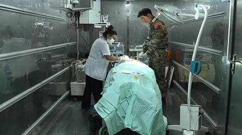 Efes Tatbikatı Bölgesinde 30 Yataklı Hastane Kuruldu