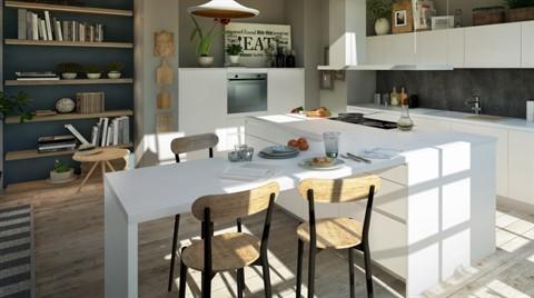Minimalist Tasarıyla Şık Bir Mutfak: İnova