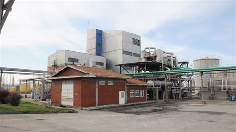 Türkiye'nin Tek Saf Etil Alkol Fabrikası Yeniden Açıldı