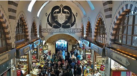 Tarihi Mısır Çarşısı'nın Sembolü 'Vav' Görüntülendi